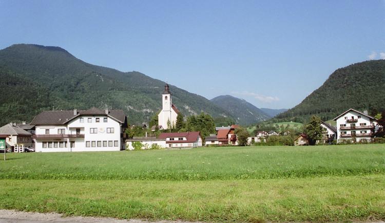 Grünau im Almtal Ortsaufnahme. (© TTG Tourismus Technologie)