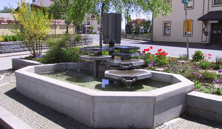 Ortsbrunnen (© Gemeinde Sandl)