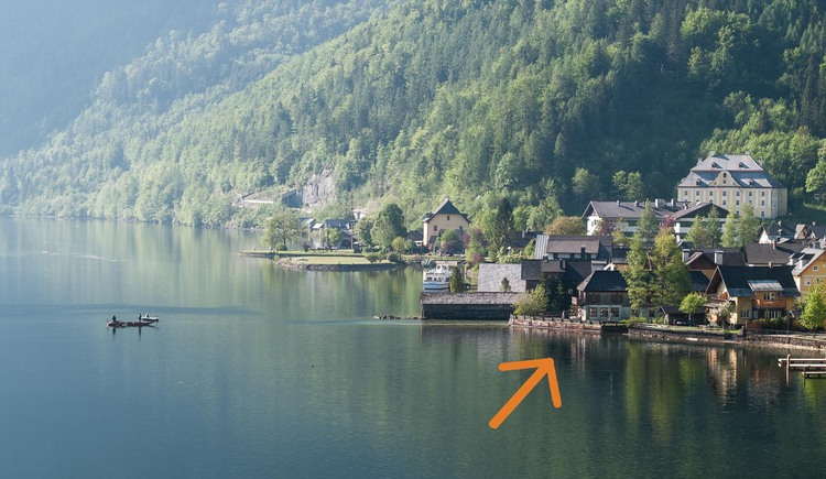 The Loft am See is located directly at Lake Hallstatt