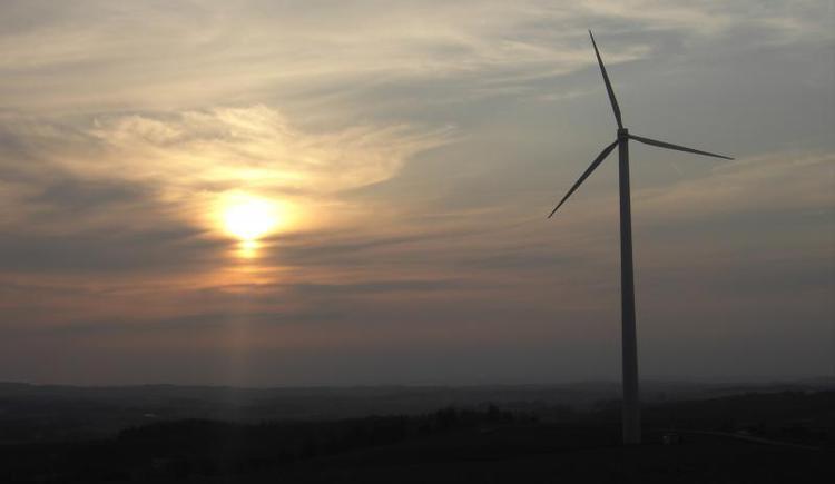 Windpark Oberrödham - Steindlberg (© Vianovis)