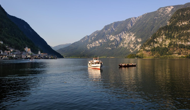 From the Loft am See you can also have a look at the ships on Lake Hallstatt