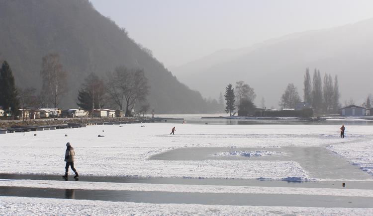 Eislaufplatz Jachthafen Kasten (© Gemeinde Vichtenstein)