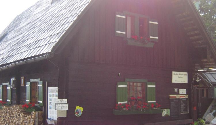 Außenansicht der Theodor-Körner-Hütte