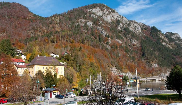 Großer Sonnstein oberhalb Ebensees (© Tourismusbüro Ebensee, Gerhard Spengler)