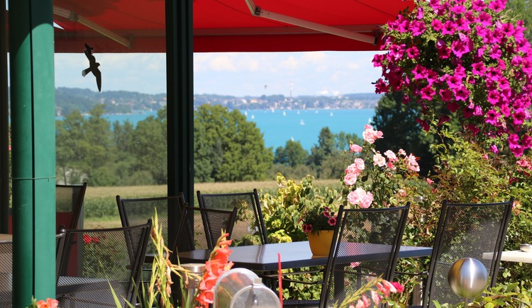 view from the terrace (© Hotel Haberl)