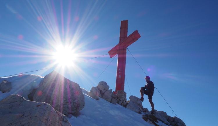 Gr. Priel Klettersteig Holger Friedl Manuela 10.10.2018 15-22-14 (© TVB Pyhrn-Priel/Kniewasser)