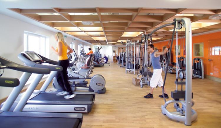 Fitnesscenter im Hotel (© Hotel Almesberger)