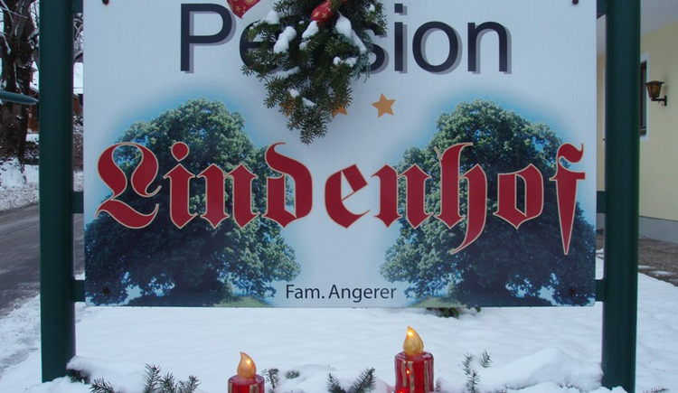 Logo Pension Lindenhof im Winter (© Angerer, Pension Lindenhof)