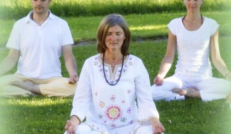 Yoga im täglichen Leben (© Veronika Oberascher-Pfau)