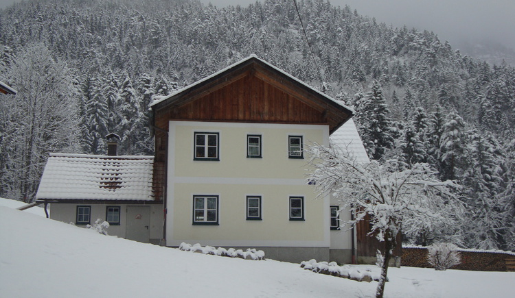 Very quiet located on the edge of the forest, is the holiday home Waldbankerl