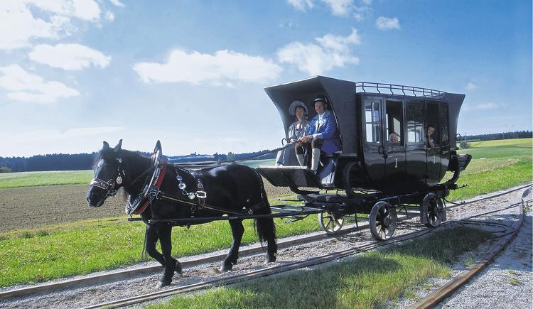 Pferdeeisenbahn Rainbach (© OÖ.Tourismus/Himsl)