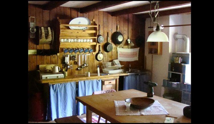 Küche Alpin Hütte
