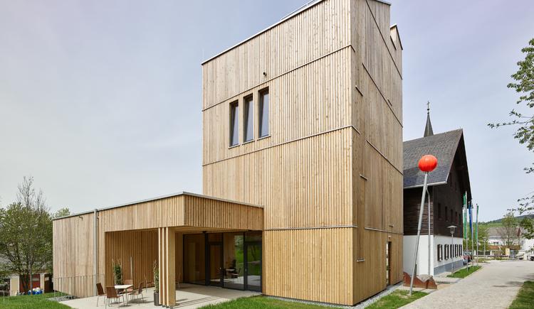 Moderner Holzbau. (© Foto: Kurt Hörbst)