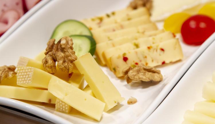 Käse am Buffet (© by Gästehaus