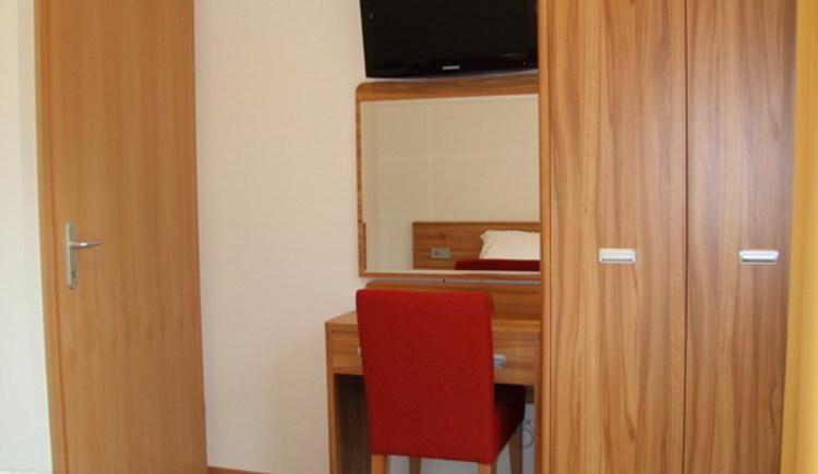 Ansicht des Schlafzimmers. (© Resort Obertraun)