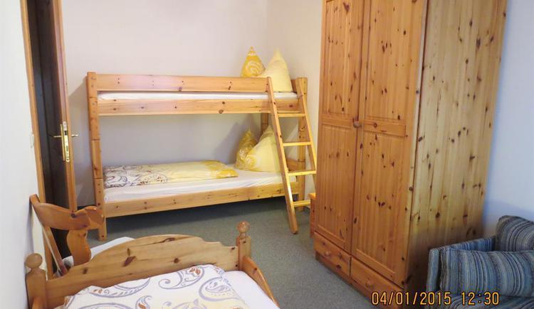 FW-Bergblick / Schlafzimmer (© Alexandra Oberascher)