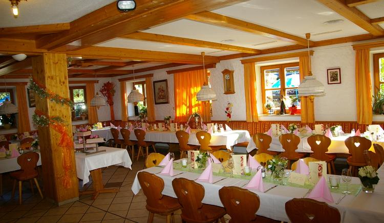 Spitzerwirt Hochzeitstafel. (© Spitzerwirt)