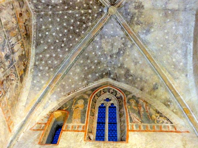 Fresken des Frauenturms (© TSE Enns)