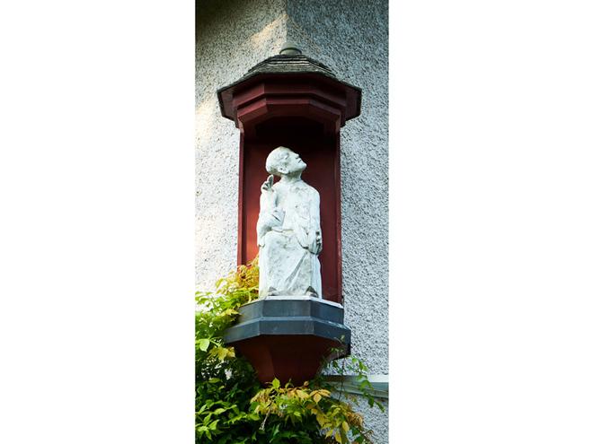 Franziskus Statue (© Matthias Winkler)