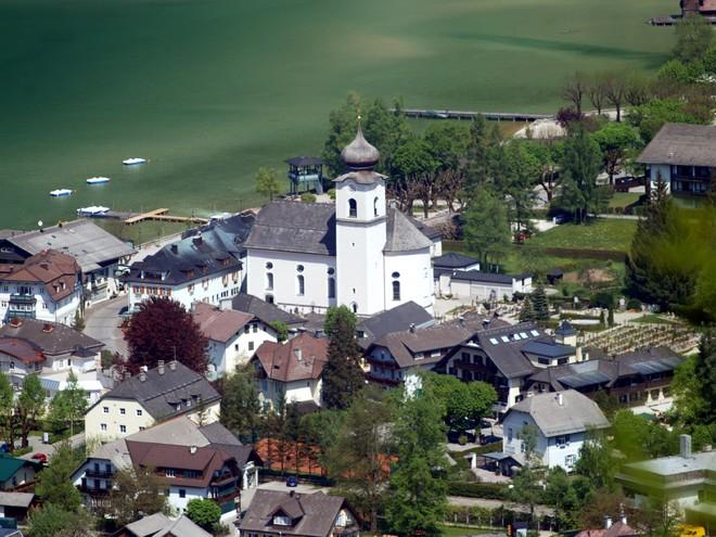 Kirche zum Hl.Sigismund Strobl (© Paul Rauchenschwandtner)