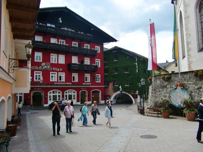 Marktplatz St. Wolfgang (© WTG)