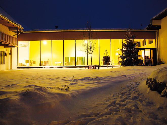 Pankrazhofer im Schnee (© Pankrazhofer, Fam. Eder)