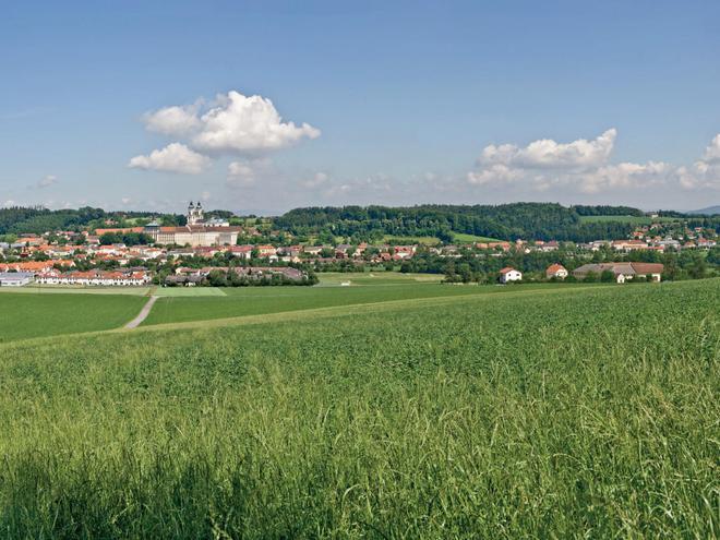 Panoramablick Weilling (© WGD Donau Oberösterreich_Projektkraft)