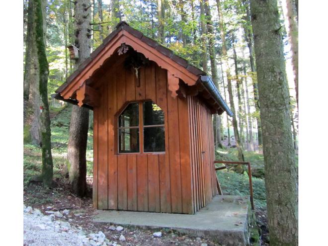 Ritzinger Waldkapelle (© Annelu Wenter)