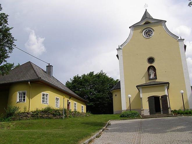 Wallfahrtskirche Maria Trost (© Ferienregion Böhmerwald)