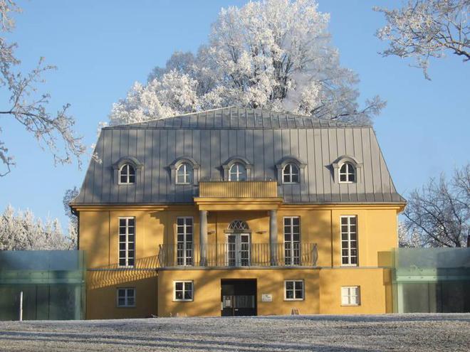 Villa im Winter (© Villa sinnenreich)