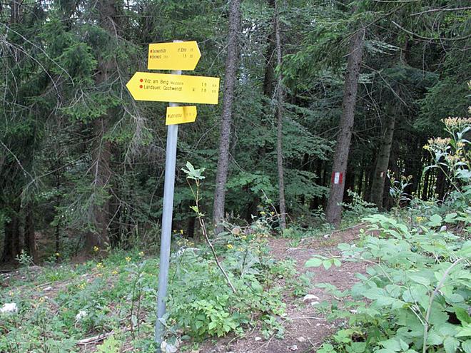 Wegpunkt 13 (© Wolfgangsee Tourismus)