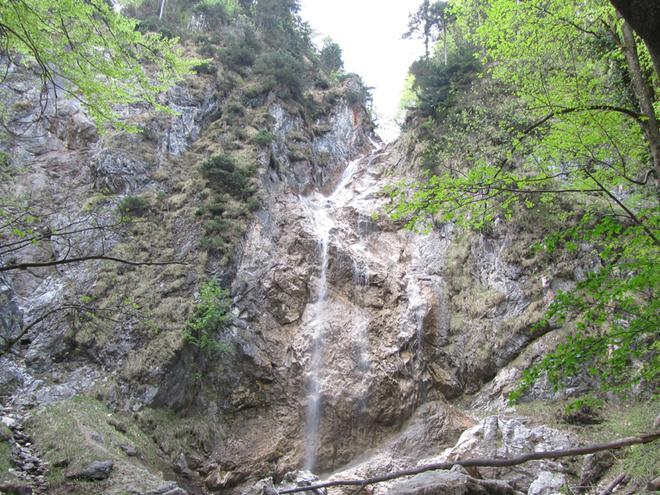 Wasserfall Kreuzstein (© www.mondsee.at)