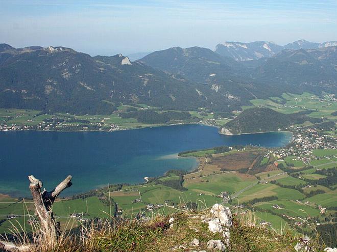 Wegpunkt 022 (© Wolfgangsee Tourismus)