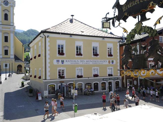 Amtsgebäude der Landgemeinden (© Tourismusverband MondSeeLand)