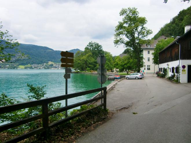 Parkplatz beim Gasthof & Hotel Fürberg (© WTg)