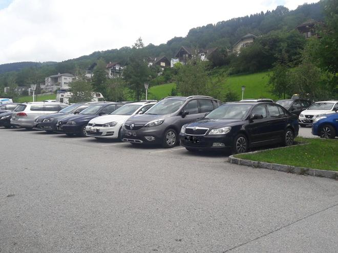 Parkplatz Zentrum (© Tourismusverband MondSeeLand)