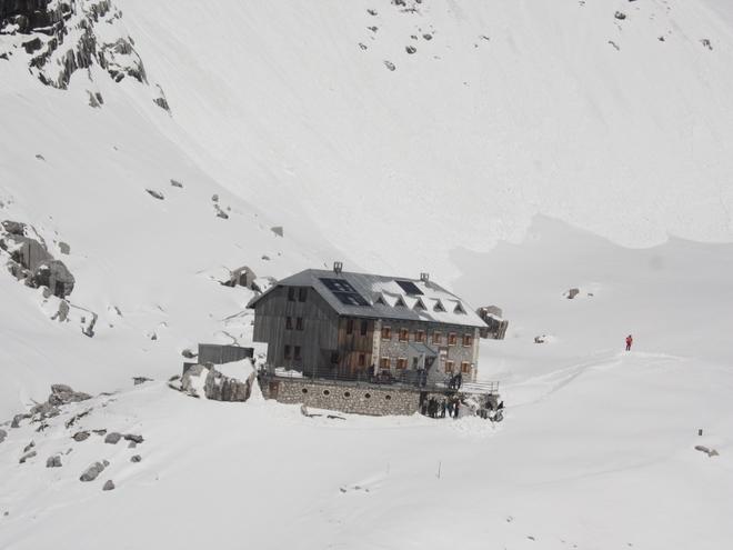 Adamekhütte am Dachsteingletscher (© Tourismusverband Dachstein Salzkammergut)