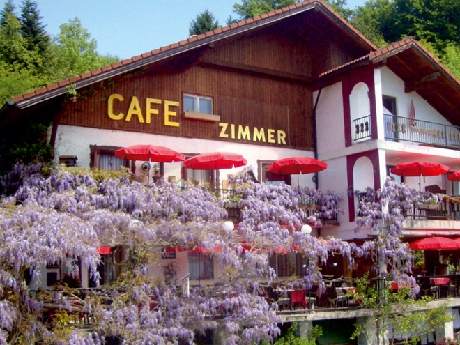 Terrassencafé Koberger in Attersee am Attersee (© Familie Koberger)