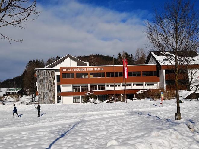 Winter im Hotel Freunde der Natur (© Hotel Freunde der Natur)