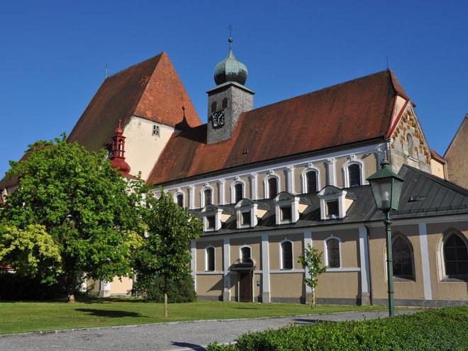 Pfarrkirche Baumgartenberg (© Albert Kern)