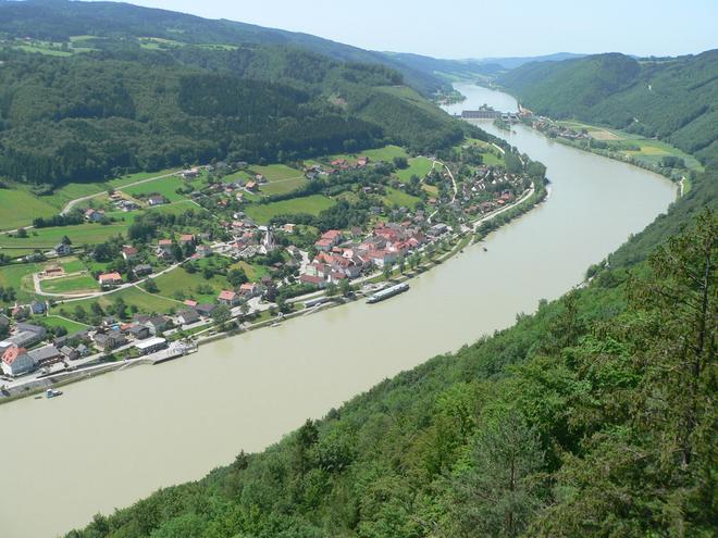 Ausblick vom Donaublick Penzenstein (© TV Neustift)