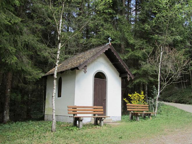 Lourdes chapel (© Tourismusverband MondSeeLand)