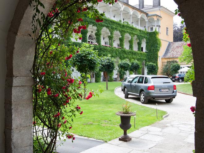Innenhof Schloss Aschach