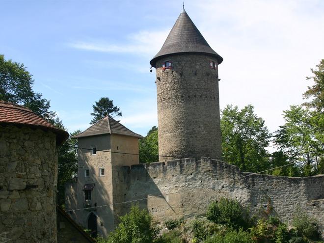 Burg Dornach in Lasberg (© Tourismusverband Mühlviertler Kernland)