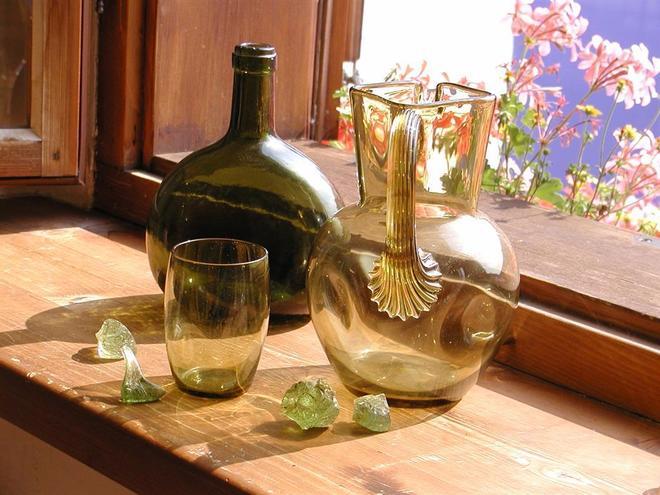 Verschiedene Glasarten (© Ferienregion Böhmerwald)