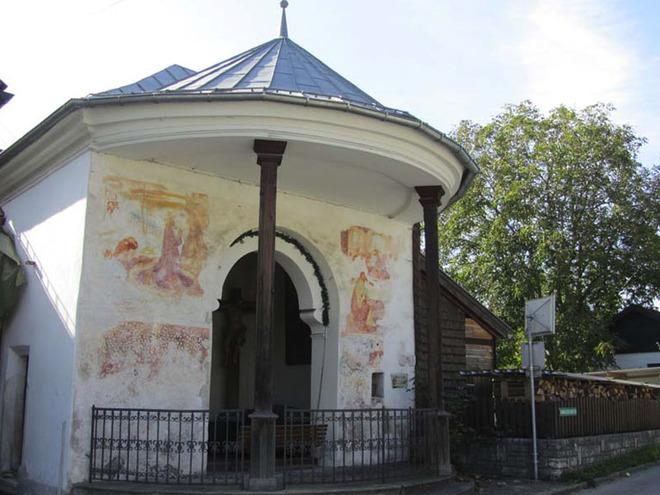 Hochkreuzkapelle (© Tourismusverband MondSeeLand)