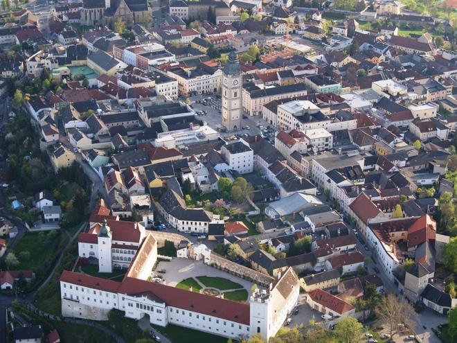 Luftaufnahme Enns (© TSE Enns)