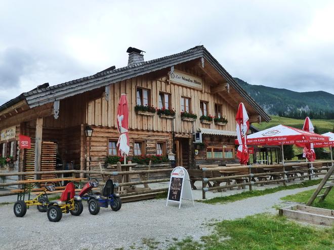 Almgasthof Zur Blonden Hütte (© WTG)