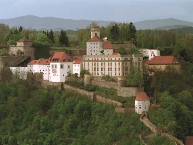 Ansicht Veste Oberhaus