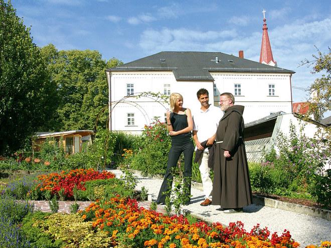 Klostergarten (© Gemeinde Maria Schmolln)